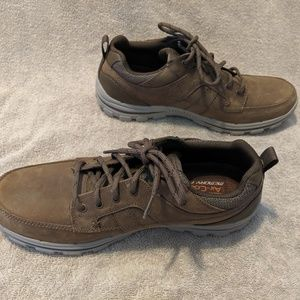 Brown Lace Up Sketcher Sneakers 10